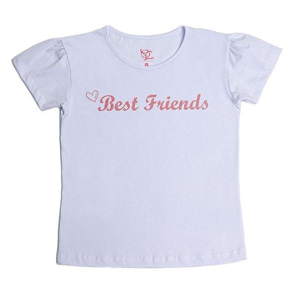 Blusa Infantil Menina Jokenpô Best Friend