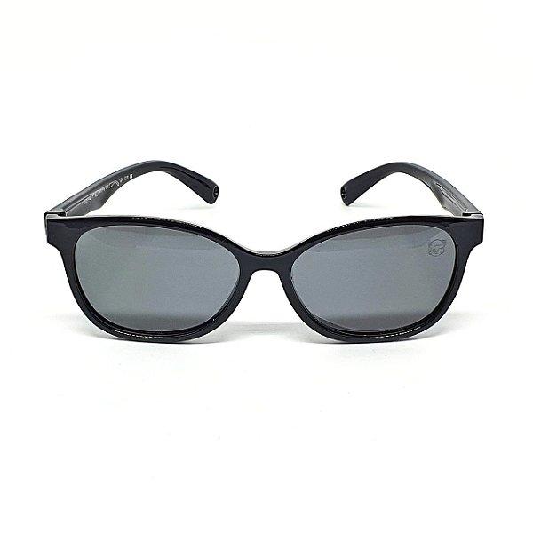 Óculos Infantil de Sol Flexível Polarizado UV400 Preto