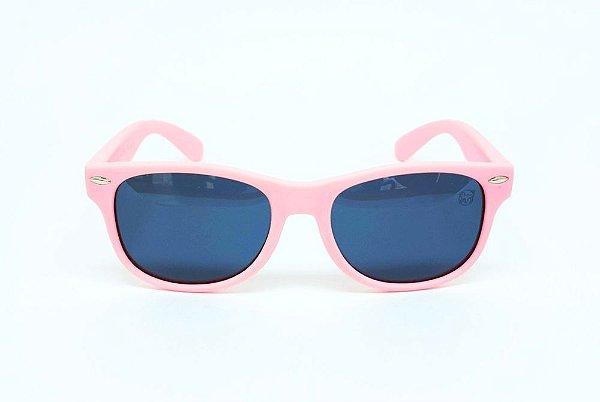 Óculos Infantil de Sol Flexível Polarizado UV400 Rosa