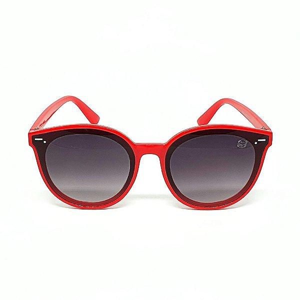 Óculos Infantil de Sol Flexível Polarizado UV400 Vermelho