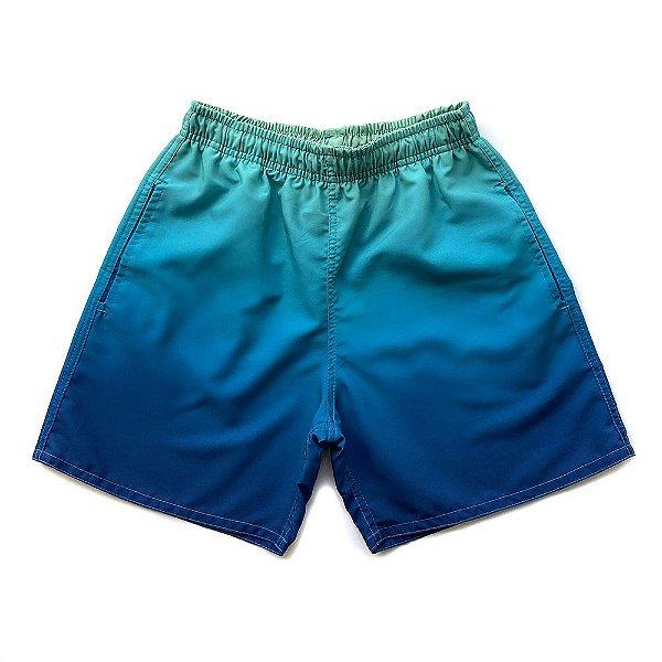 Shorts D'Água Infantil Menino Jokenpô Degradê Verde