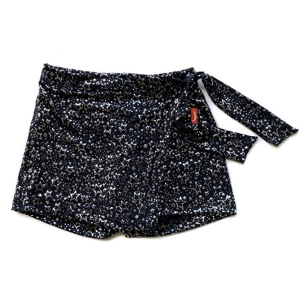 Shorts Saia Infantil Menina Jokenpô Estrelas