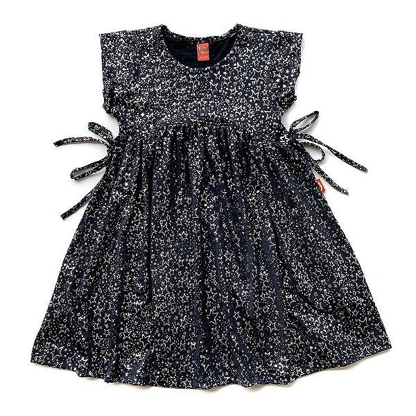 Vestido Infantil Menina Jokenpô Estrelas