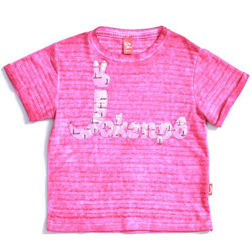 Blusa Jokenpô Infantil Jkp Cetim Pink