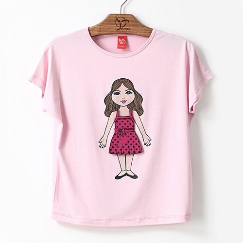 Blusa Jokenpô Infantil Vestidos Rosa