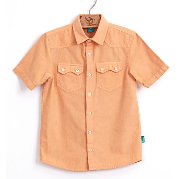 Camisa Jokenpô Infantil M/C Laranja