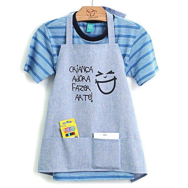 Camiseta Jokenpô Infantil Avental Arte