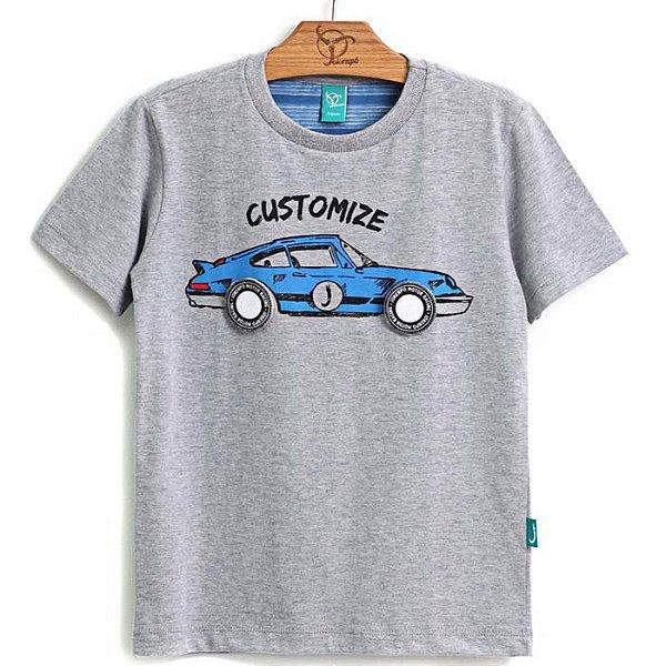 Camiseta Infantil Customize