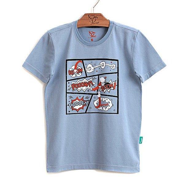 Camiseta Jokenpô Infantil Filho Comics