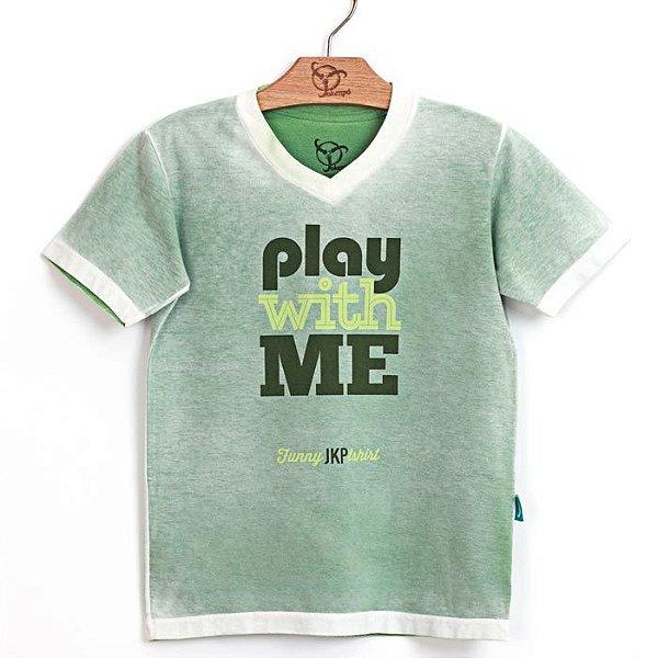Camiseta Jokenpô Infantil Filho Play Verde