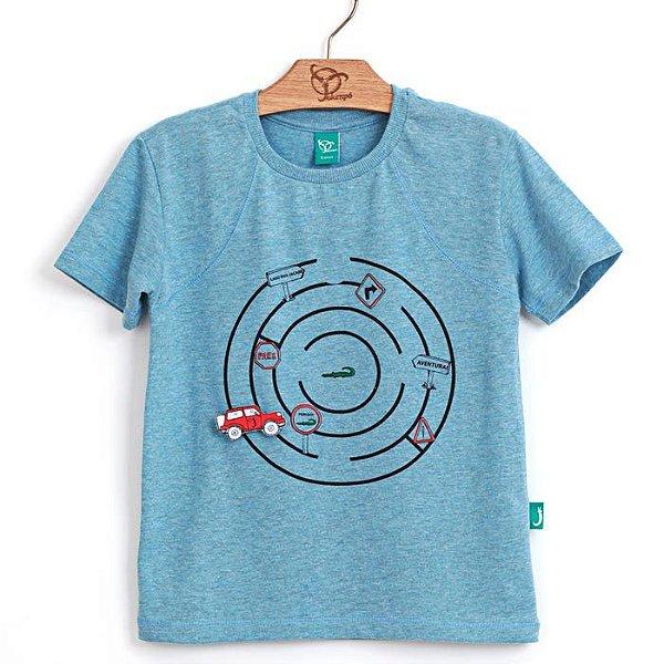 Camiseta Jokenpô Infantil Labirinto