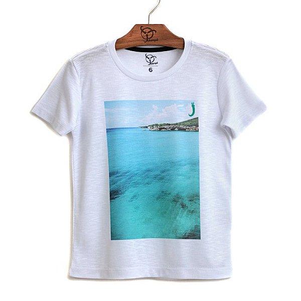 Camiseta Jokenpô Infantil Mar