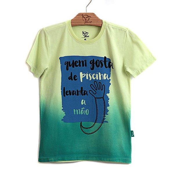 Camiseta Jokenpô Infantil Piscina