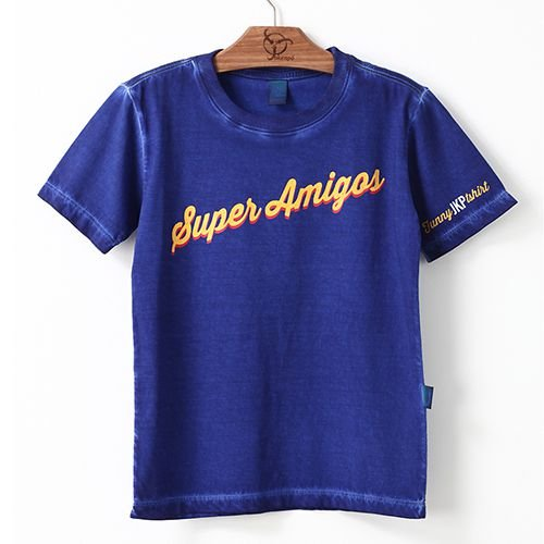 Camiseta Jokenpô Masculina Super Amigos Azul