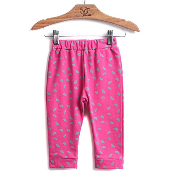 Calça Jokenpô Bebê Saruel Boquinhas Pink