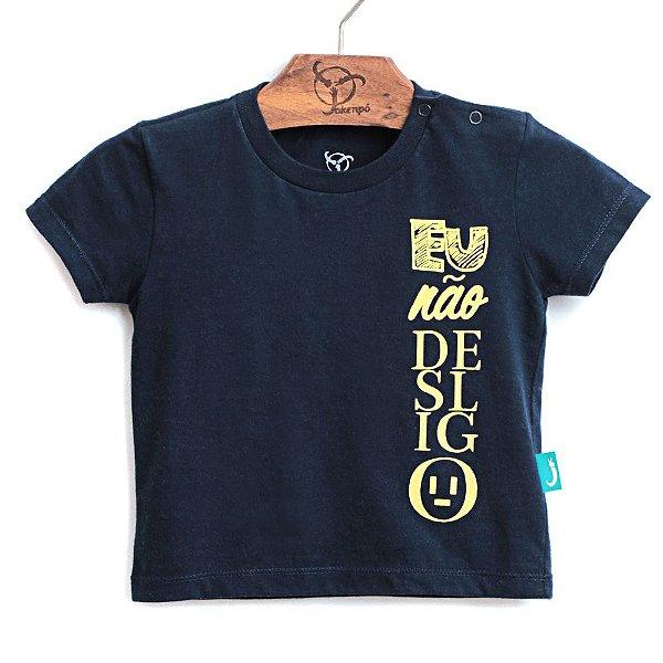 Camiseta Jokenpô Bebê Desligo Brilha no Escuro