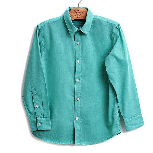 Camisa Infantil Cambraia Verde
