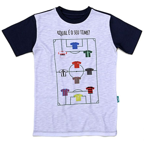 Camiseta Jokenpô Infantil Time