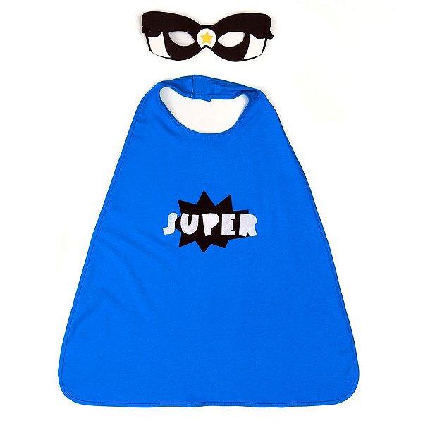 Máscara e Capa Jokenpô Infantil Super