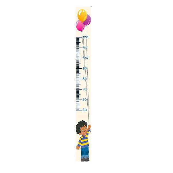 Régua Jokenpô Adesiva Autocolante de Crescimento Infantil Menino
