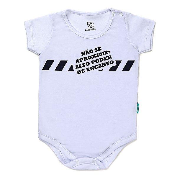 Body Jokenpô Bebê Menino Não Se Aproxime
