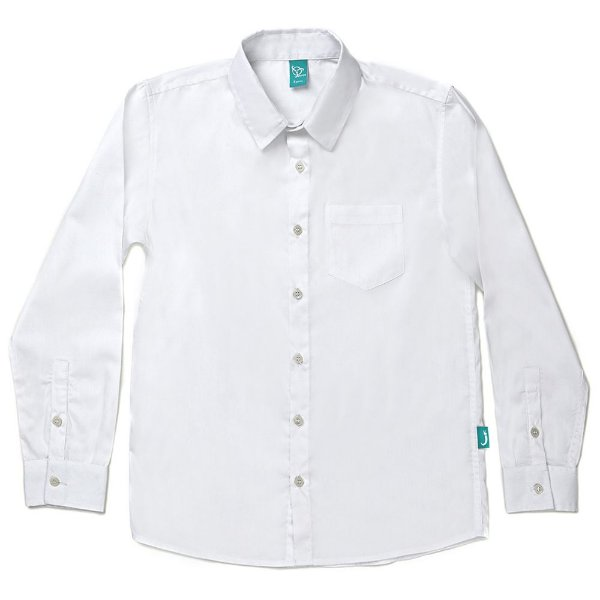 Camisa Jokenpô Infantil em Tricoline Branca