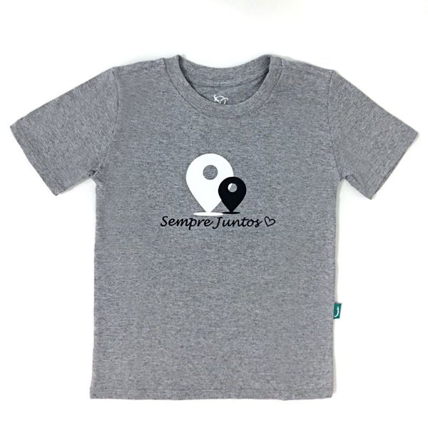 Camiseta Jokenpô Infantil Filho Sempre Juntos