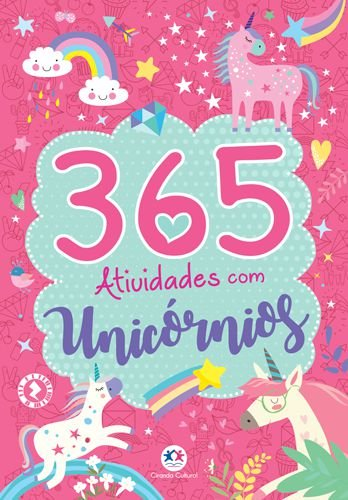 Livro 365 Atividades com Unicórnios