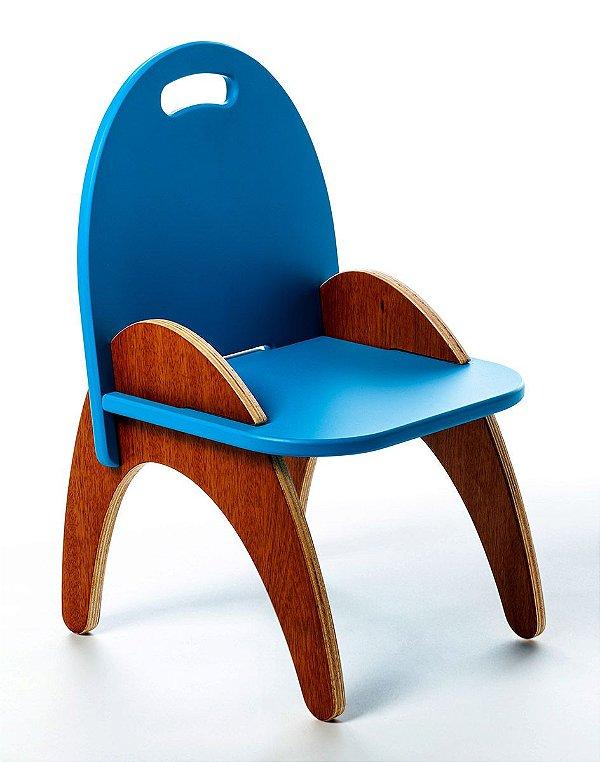 Cadeira Jokenpô/Tauga Infantil Gloop Azul