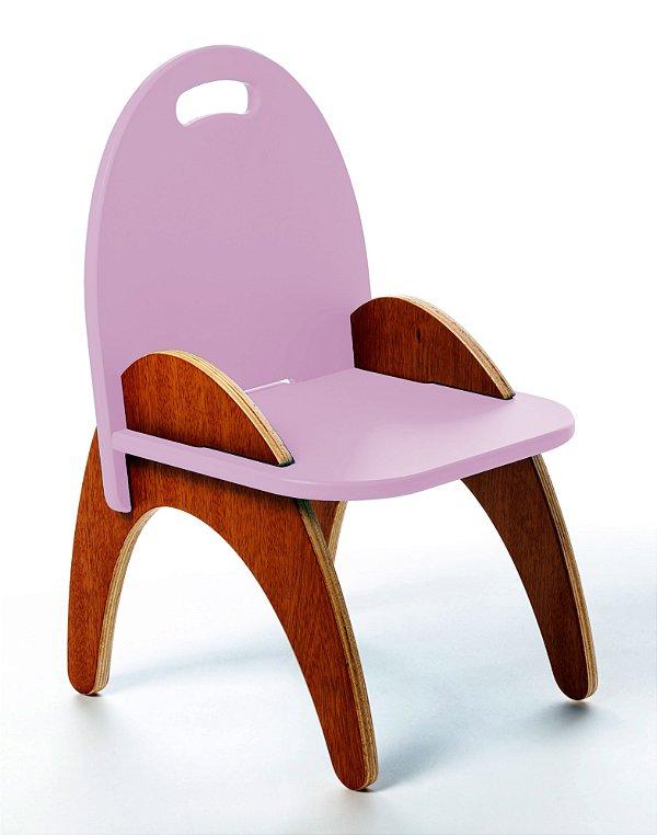 Cadeira Jokenpô/Tauga Infantil Gloop Rosa