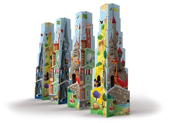 Brinquedo Infantil Jokenpô / Ligno Torre de Estrelas