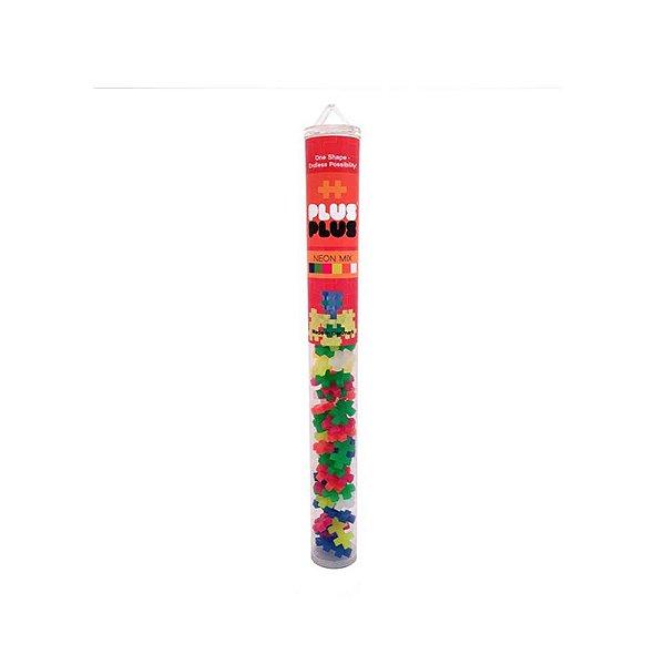 Brinquedo Infantil Jokenpô/Steam Toy Tube Mini Neon Mix 100 pcs