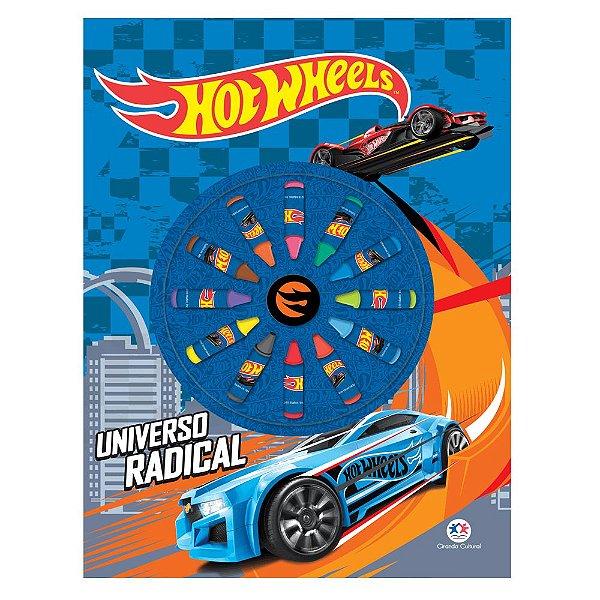Livro Hot Wheels - Universo Radical