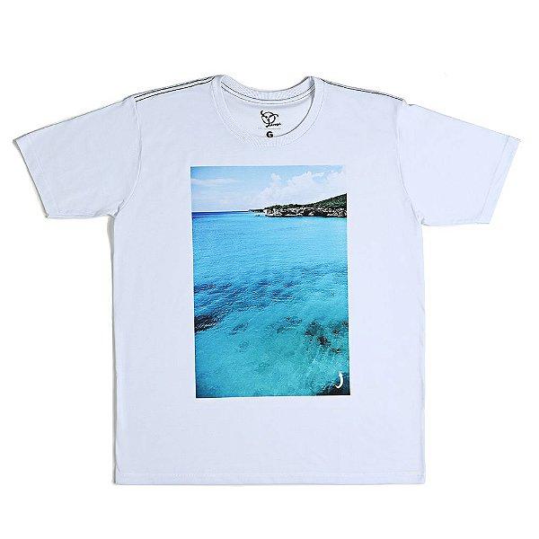Camiseta Jokenpô Casual Mar Masculina