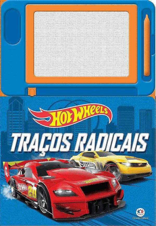 Livro Hot Wheels - Traços Radicais