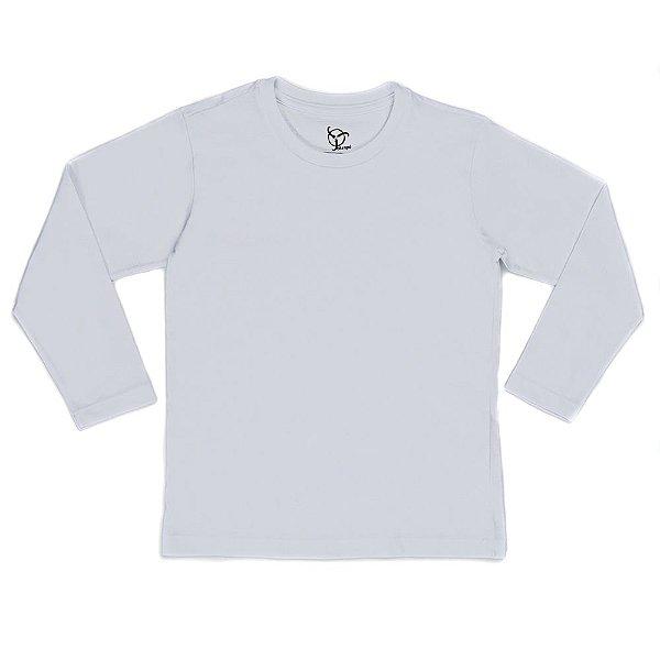 Camiseta Infantil Jokenpô Básica M/L Masculina Branca