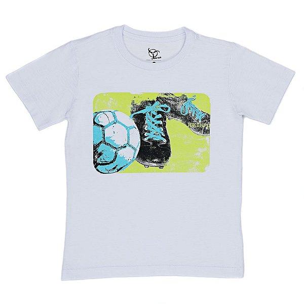 Camiseta Infantil Jokenpô Chuteira Masculina