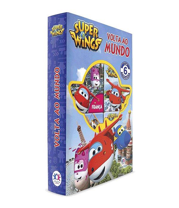 Livro Super Wings - Volta ao Mundo
