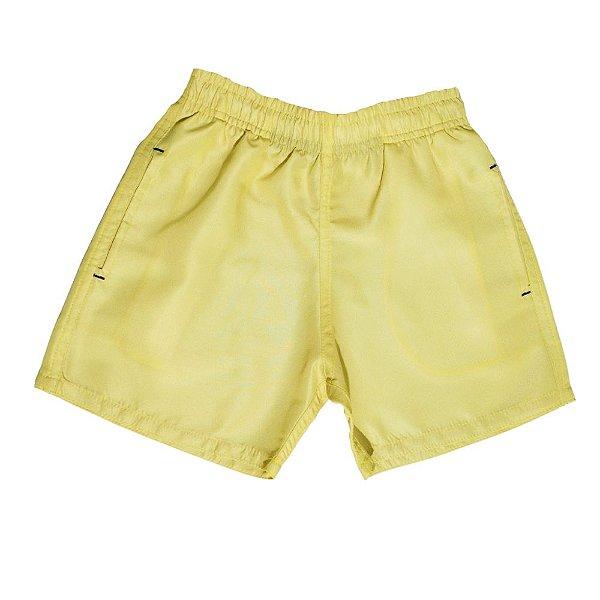 Shorts D'água Infantil Jokenpô Masculino Amarelo