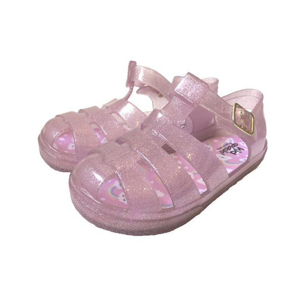 Sandália Jokenpô/Kidsplash Infantil Glitter Rosa