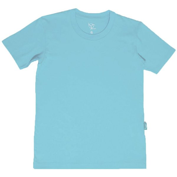 Camiseta Infantil Jokenpô Básica M/C Masculina Azul Claro