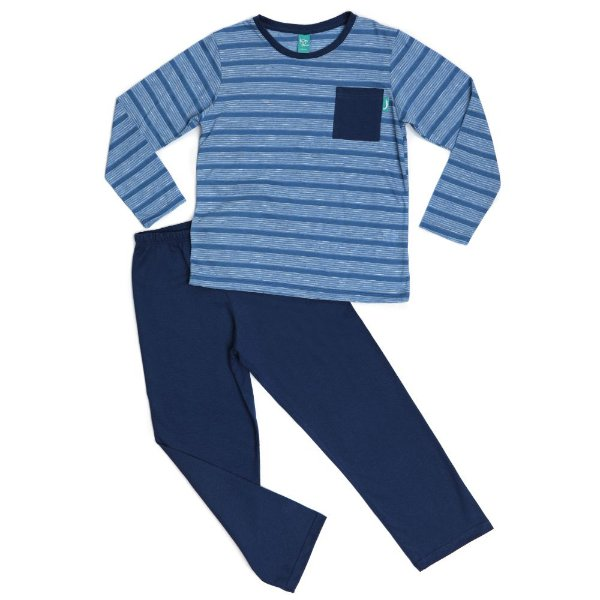 Pijama Infantil Longo Algodão Menino Jokenpô