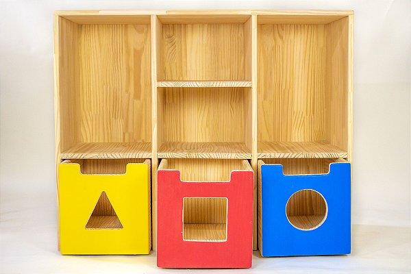 Modulo organizador de Brinquedos
