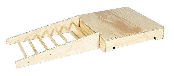Rampa com barras  - Circuito de Obstáculos