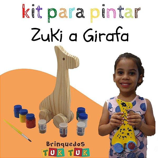 Kit Para Pintar Zuki a Girafa