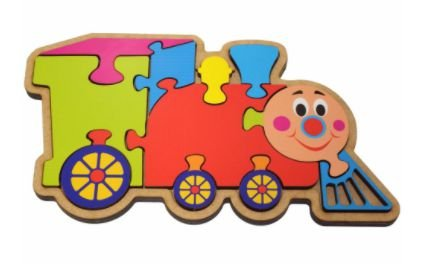 Quebra-Cabeça Trem