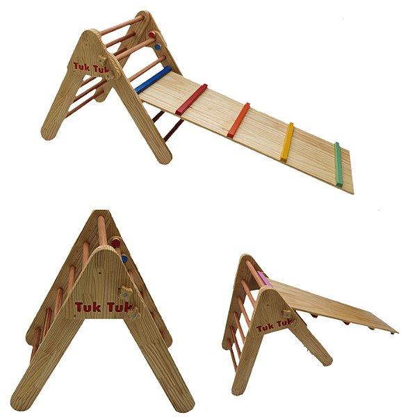 Triângulo com Rampa  - Inspirado na abordagem Pikler