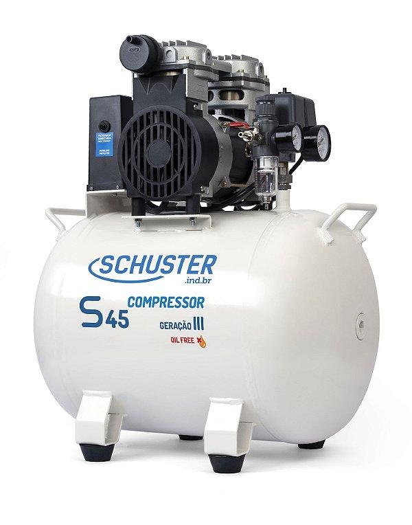 Compressor Odontológico S45 Geração III - Schuster