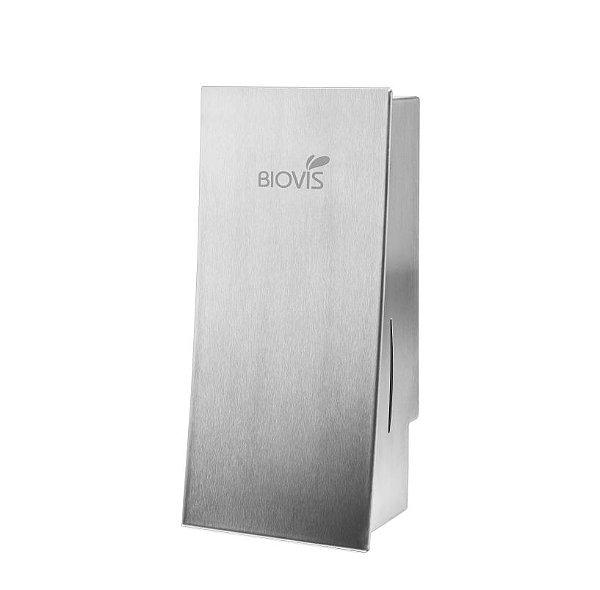 Saboneteira Manual Slim em Inox - Biovis