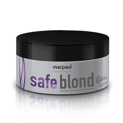 MÁSCARA SAFE BLOND MACPAUL